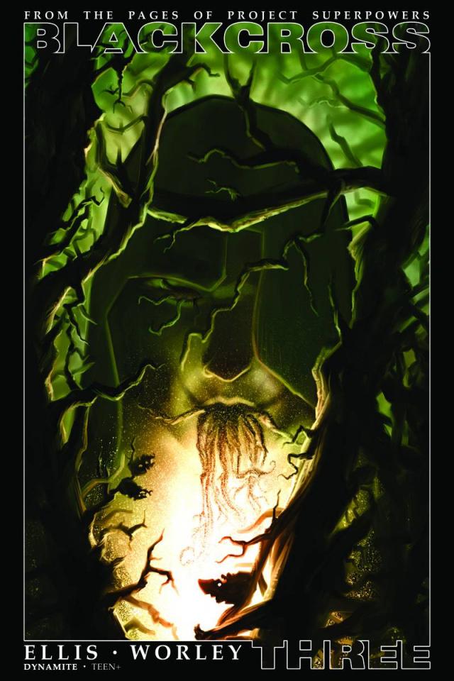 Blackcross #3 (10 Copy Worley Cover)