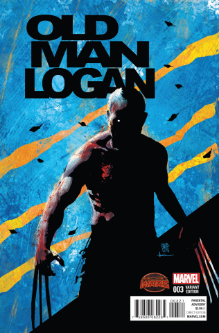 Old Man Logan #3 (Sorrentino Cover)