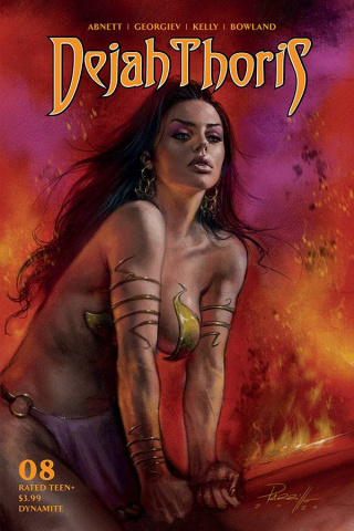 Dejah Thoris #8 (Parrillo Cover)