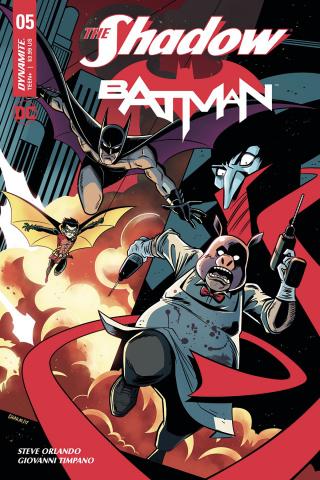 The Shadow / Batman #5 (Charm Cover)
