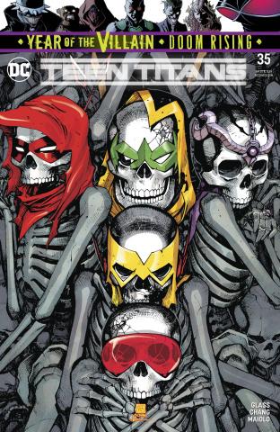 Teen Titans #35 (Year of the Villain)