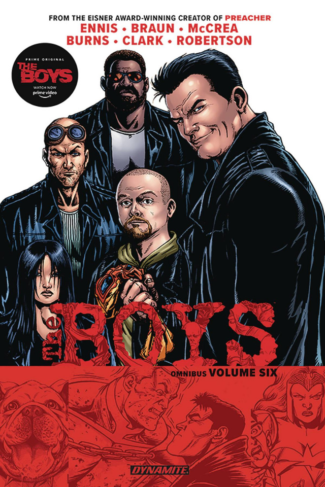 The Boys Vol. 6 (Robertson Signed Omnibus)