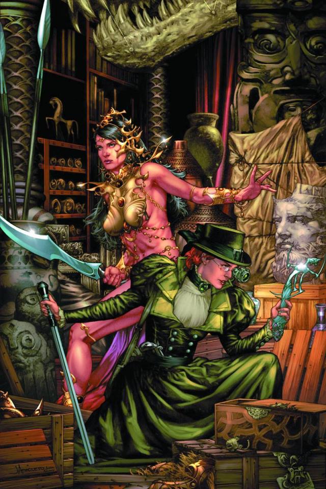 Swords of Sorrow: Dejah Thoris & Irene Adler #2 (Virgin Cover)