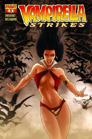 Vampirella Strikes #3 (Neves Cover)
