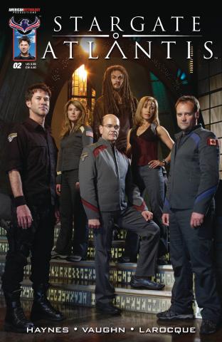 Stargate Atlantis: Back to Pegasus #2 (Photo Cover)