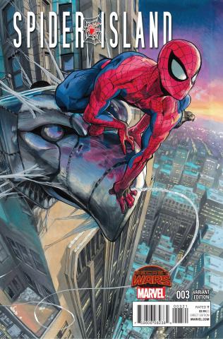 Spider-Island #3 (Murata Manga Cover)