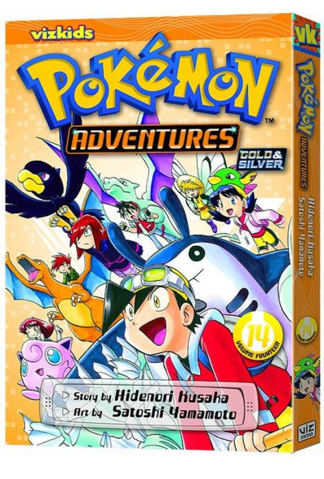Pokemon Adventures Vol. 14