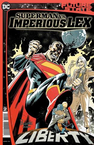 Future State: Superman vs. Imperious Lex #2 (Yanick Paquette Cover)