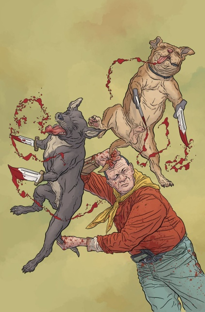 Shaolin Cowboy: Who'll Stop the Reign? #4