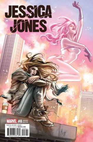 Jessica Jones #8 (Checchetto Cover)