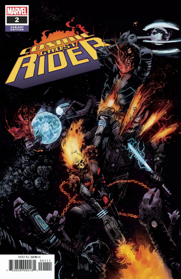 Cosmic Ghost Rider #2 (Zaffino Cover)