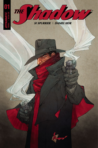 The Shadow #1 (Rocafort Cover)