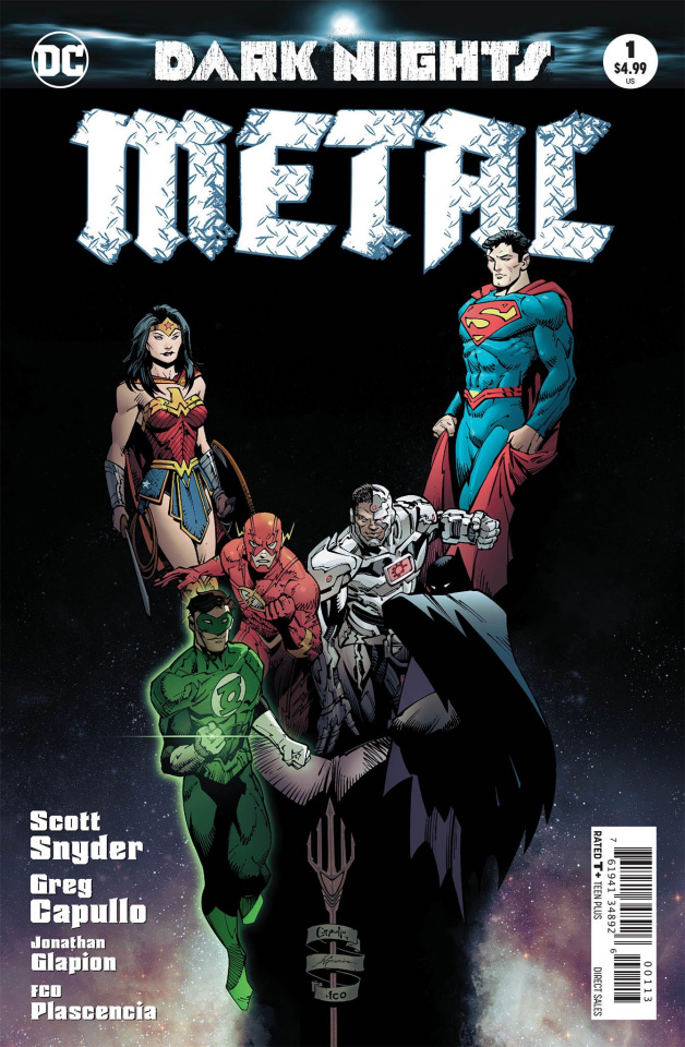 Dark Nights: Metal #1 (3rd Printing)
