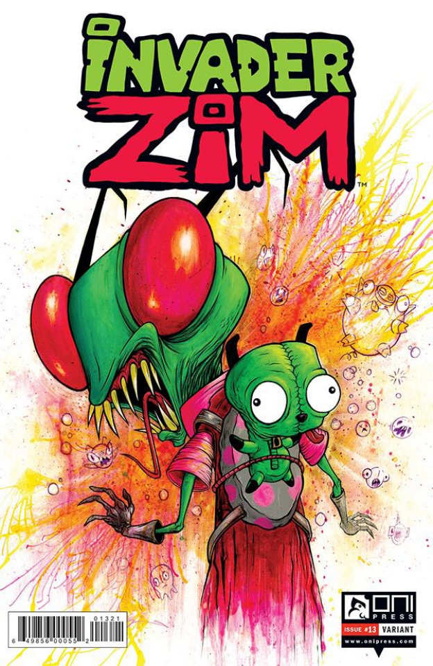 Invader Zim #13 (Pardee Cover)