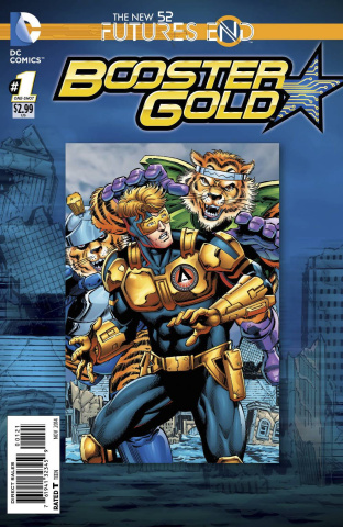 Booster Gold: Future's End #1 (Standard Cover)