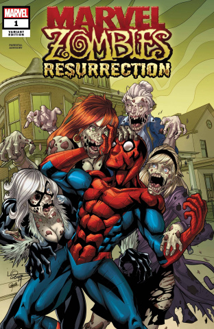 Marvel Zombies: Resurrection #1 (Lubera Cover)