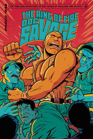 Doc Savage: The Ring of Fire #4 (Marques Cover)