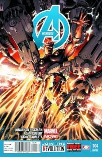 Avengers #4 (2nd Printing)