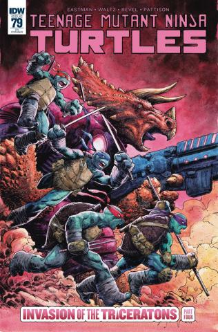 Teenage Mutant Ninja Turtles #79 (10 Copy Cover)