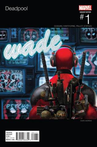 Deadpool #1 (Andrews Hip Hop Cover)
