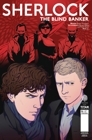 Sherlock: The Blind Banker #6 (Doubleleaf Cover)