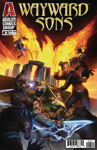 Wayward Sons #3 (Raynor Holofoil Logo Cover)