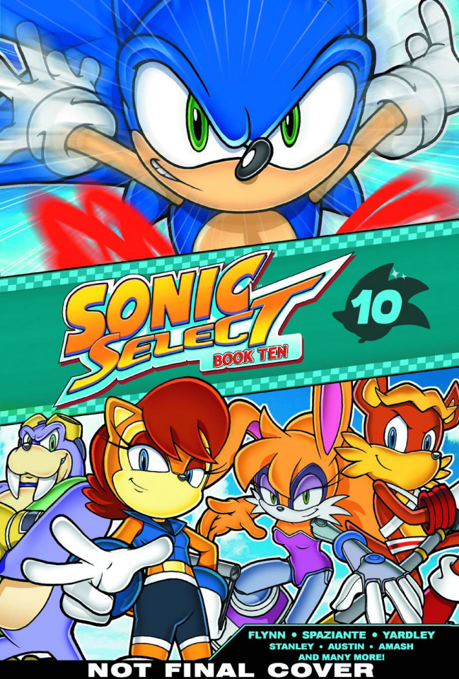 Sonic the Hedgehog Select Vol. 10