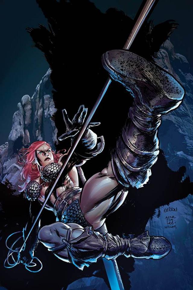 Red Sonja #16 (15 Copy Gedeon Homage Virgin Cover)
