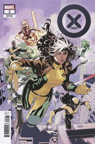 X-Men #3 (Dodson Cover)