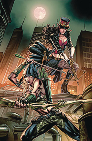 Van Helsing vs. The League of Monsters #2 (Vitorino Cover)