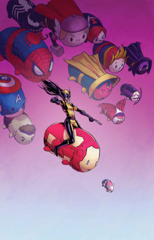 All-New Wolverine #11 (Parker Tsum Tsum Cover)