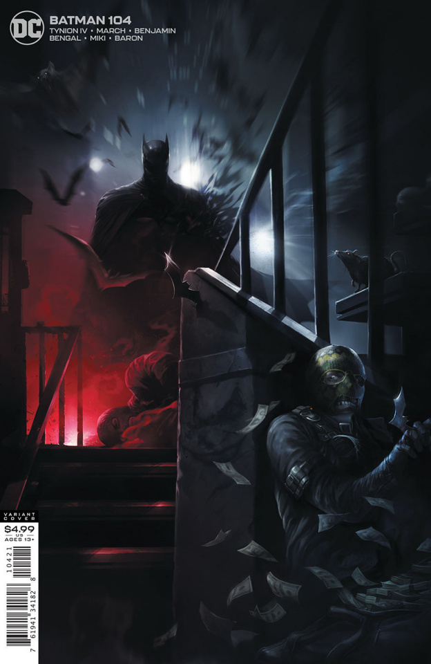 Batman #104 (Francesco Mattina Card Stock Cover)