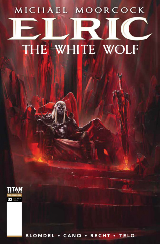 Elric: The White Wolf #2 (Palma Cover)