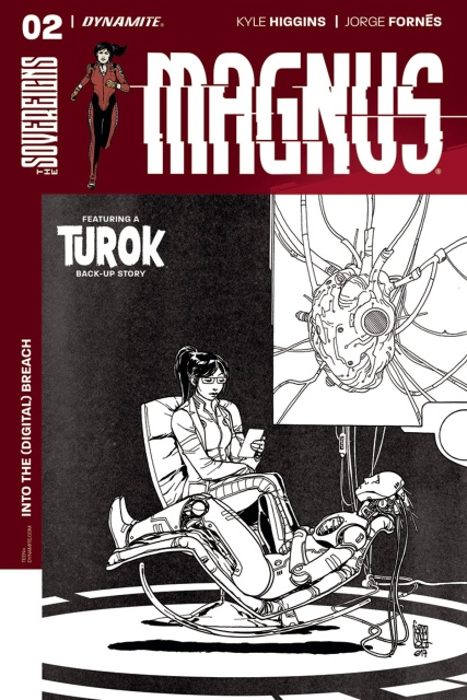 Magnus #2 (10 Copy Camuncoli B&W Cover)