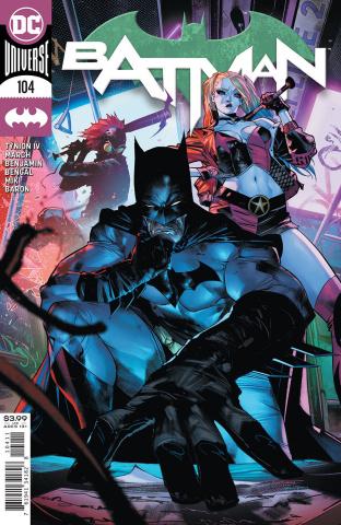 Batman #104 (Jorge Jimenez Cover)