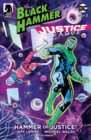 Black Hammer / Justice League #2 (Walsh Cover)