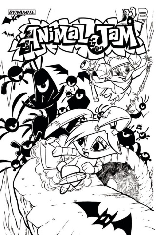 Animal Jam #2 (Coloring Book Cover)