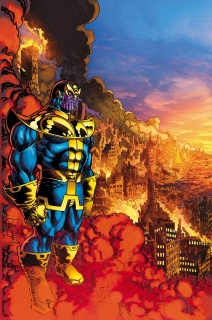 Thanos #3 (Broderick Cover)
