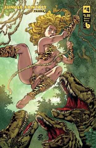 Jungle Fantasy: Fauna #4 (Natural Beauty Cover)