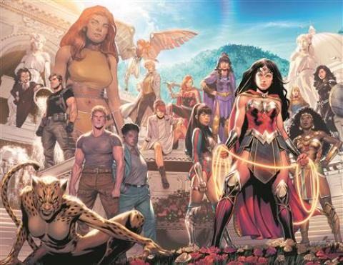 Wonder Woman #770 (Travis Moore Wraparound Cover)