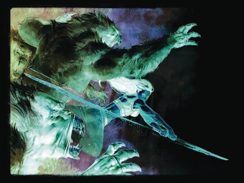 Gung-Ho: Sexy Beast #1 (20 Copy Nic Klein Negative Cover)
