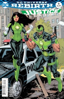 Justice League #6 (Variant Cover)
