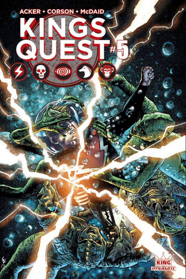 Kings Quest #5 (Worley Subscription Cover)