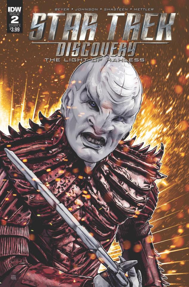 Star Trek: Discovery #2 (Shasteen Cover)