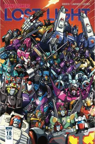 The Transformers: Lost Light #18 (Milne Cover)