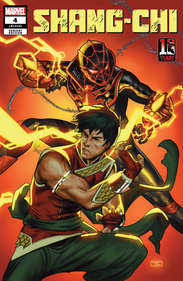 Shang-Chi #4 (Clarke Miles Morales 10th Anniversary Cover)