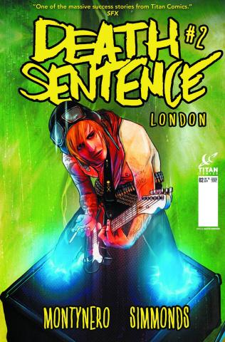 Death Sentence: London #2 (Subscription Simmonds Cover)