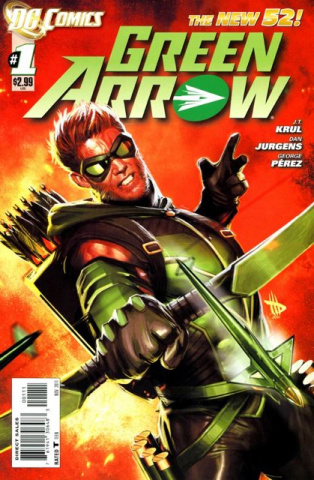 Green Arrow #1 (2nd Printing)