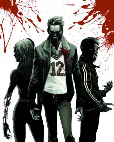 The Coming of Rage #1 (Bloody White Limited Cover)