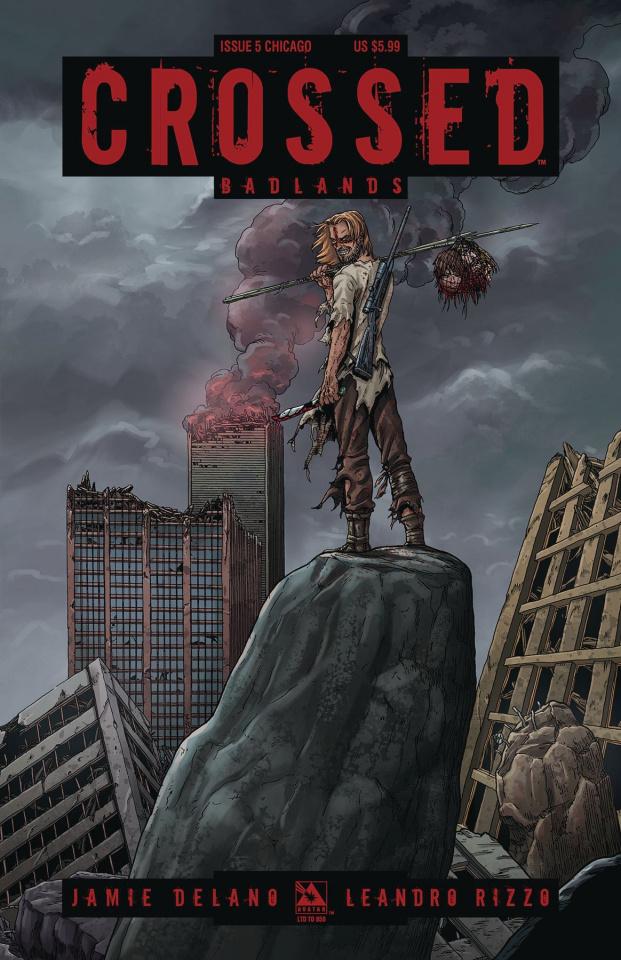 Crossed: Badlands #5 (Chicago Cover)